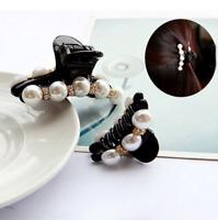 Fashion Women Flower Crystal Hair Clip Rhinestone Hairpin Claw Clamp Headwear