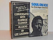 Eldridge Cleaver - Soul on Ice;  Algiers - Conversations with Eldridge Cleaver