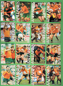 1996  AUSTRALIAN WALLABIES   RUGBY  UNION CARDS - 29 CARDS