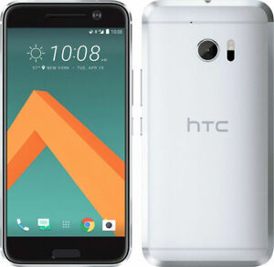 HTC 10 - 32GB - Glacier Silver (Unlocked) Smartphone - Grade A
