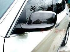 UNIQUE REAL 3D GLOSSY CARBON FIBER SIDE MIRROR COVER FOR 10-13 BMW X1 E84 SPORT