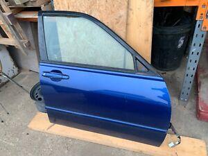 99-05 LEXUS IS200 IS300 FRONT DOOR BLUE 8N8 DRIVER SIDE OSF LEFT SPORT