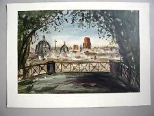 LAPRADE Pierre Lithographie MOURLOT 1957 ROME Narbonne Aude Fontenay-Aux-Roses