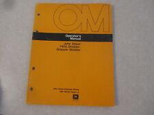 John Deere 740A 740 A Skidder / Grapple owners & maintenance manual