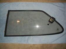 Classic SAAB 900 2 Door Hatchback Left Rear Quarter Window Bronze Tint Black