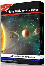 Earth and Expo planet Explorer - Nasa Planet and Solar System Viewer on USB