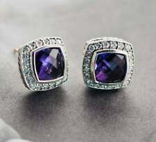 with Amethyst and Diamonds David Yurman Petite Albion® Earrings