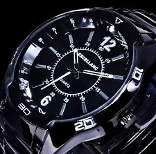 Excellanc Herren Armband Uhr Schwarz Weiß im Keramik Look 5