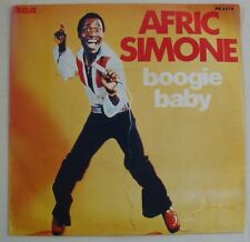 """AFRIC SIMONE """"Boogie baby""""  SP 7"""" 45T. FRANCE 1978."""