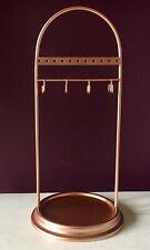 Copper Metal Jewellery Stand Hanger Trinket Holder Rack Organiser xmas gift