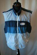 Vintage Sergio Tacchini running gilet jacket sleeveless track size large sport