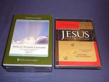 Teaching Co Great Courses DVDs       BIBLICAL  WISDOM  LITERATURE    new + BONUS