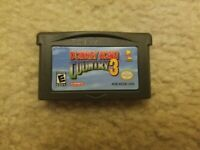 Donkey Kong Country 3 (Nintendo Game Boy Advance, GBA) *Authentic & Tested*