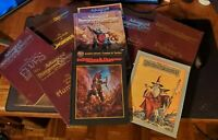 Advanced Dungeons and Dragons - 2nd Edition - AD&D - Supplemental LOT! 8 Books