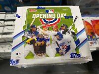 2021 Topps Opening Day Baseball Hobby Box Factory Sealed
