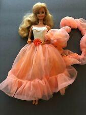 1984 Peaches 'n Cream Barbie doll Superstar Era 80's Original outfit