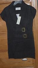 Bobbie Brooks Girls Sweater Dress Size Xs 4/5 Gray Nwt