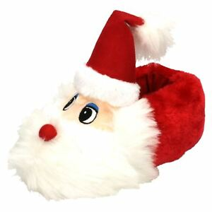 Spot On Ladies - Flat Novelty Santa Slippers