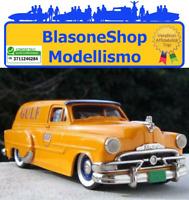 Modellino Diecast Brooklin BRK 31 1953 Pontiac Sedan Furgone Gulf Scala 1:43