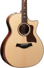 Taylor 814ce DLX V-Class Grand Auditorium Acoustic-Electric Guitar Natural