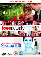 DVD: NOTTING HILL /  ABOUT TIME / LOVE ACTUALLY  - NEW Region 2 UK