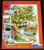 Disneyland E Ticket Magazine 2003 Flying Saucers Adventureland Walt Disney Train
