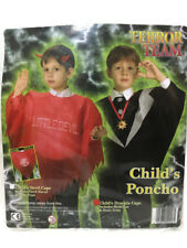 Halloween Dracula Cape Costume Robe Fantaisie Garçons Enfants Costume Enfant Poncho