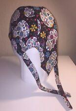 Skulls (Colorful) Skull Cap / Doo Rag w/Cool Max Lining