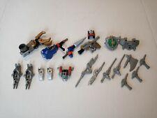 1999 Power Rangers Light Speed Rescue TITANIUM RANGER Weapons & Accessories Lot