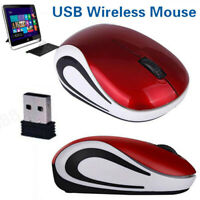 Wireless Mouse Cordless Optical Scroll Mice For PC Laptop Computer 2.4GHz Games