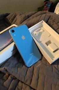 Apple iPhone XR - 64GB - Blue (Spectrum Wireless) A1984 (CDMA + GSM)