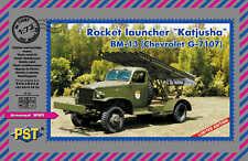 "PST 1/72 ""Katjusha"" BM-13 (Chevrolet G-7107) Rocket Launcher # 72087"
