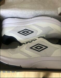 Mens Umbro trainers size 8uk white shoes brand new