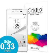 Sentete® Sony Xperia Z5 Protector de Pantalla de Cristal Templado PREMIUM