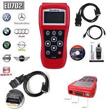 EU702 Diagnostic Tool Code Scanner ABS SRS Reader for VW Audi Benz BMW Volvo