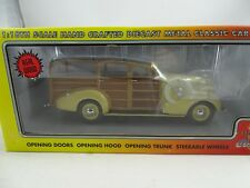 1/18 Motor City Classics #70001 1939 Chevy Woody Vehículo Italian Crema -