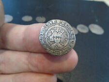 More details for king edward iii silver hammered half groat london mint detecting field find