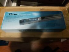 iScan Wand Portable Scanner Handheld Document Scanner - New Open Box