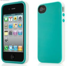 iPhone 4 4S Limited Edition Belkin Candy Case Blue Sleeve Soft Cover TPU