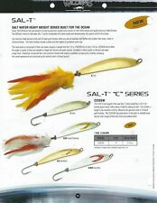Williams Sal-T C Series Fishing Lures - Dressed or Hook Only - Discontinued