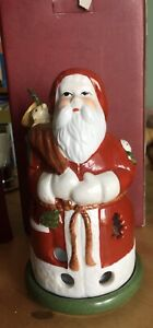 Villeroy  & Boch Santa Father Christmas T Light  Candle Holder Decoration Boxed