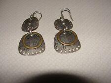Silpada .925 Sterling Silver Boho Statement Earrings W2878