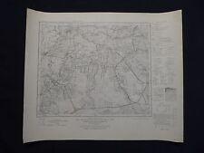 Mapa del Imperio alemán en blanco 204, Weener, TRB, Detern, apen, de 1950