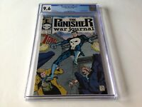 PUNISHER WAR JOURNAL 1 CGC 9.6 WHITE PAGES ORIGIN PUNISHER POTTS MARVEL COMICS