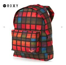 "Roxy ""Sugar Baby"" Plaid Backpack *NWT*"