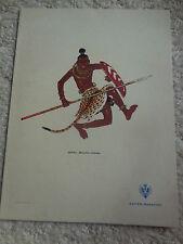 "Shipping  Company ""Lloyd Sabaudo"" original 1927s Menu holders-signed Nikulin-#1"