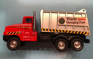Diecast waste management Dept Truck Model Car