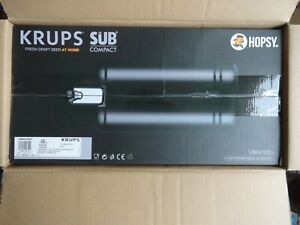 Krups Hopsy SUB Compact Home Beer Tap VB641850  Brand New Open Box Mini Keg