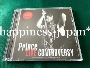 Prince Live Controversy Special Edition Tour 1981 1CD 1DVD 2 Discs Set PGA New