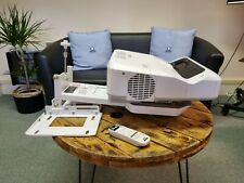 More details for epson eb-685w ultra short throw projector with wall mount excellent image